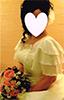 洋裁教室生徒作品-ウェディングドレス-02
