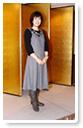 落ち着いた色合いでまとめた洋服-生徒洋裁作品